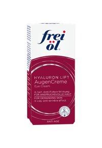 frei öl - AUGENPFLEGE ANTI AGE HYALURON LIFT AUGENCREME - Anti-Aging - weiß - 1