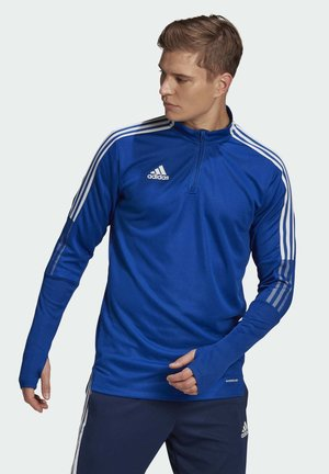 TIRO 21 TRAINING TOP - Long sleeved top - blue
