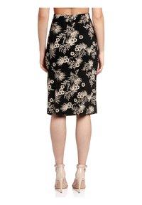 Vive Maria - TROPICAL HAWAII - Pencil skirt - schwarz allover - 2
