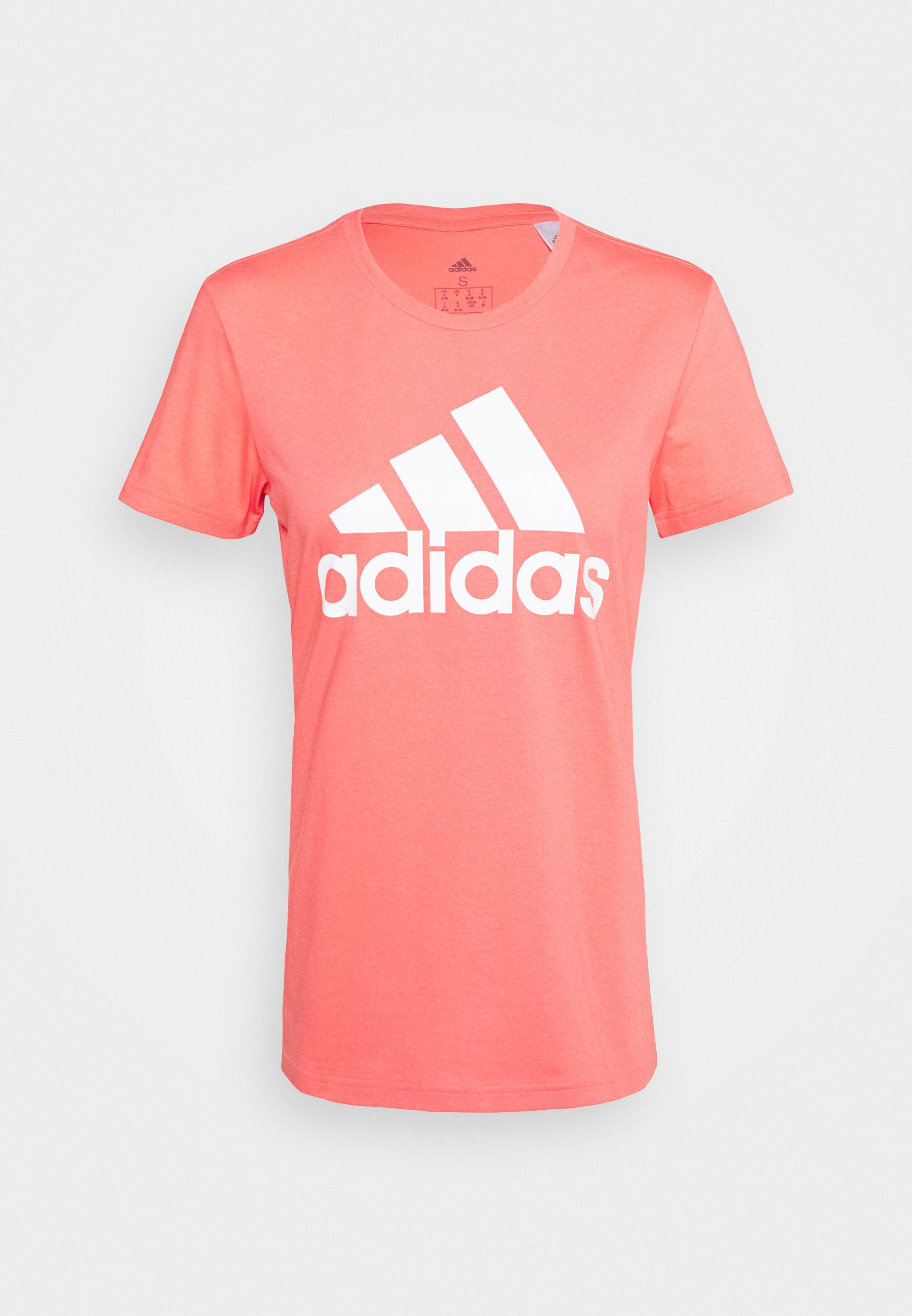 Adidas ESSENTIAL LIN T Shirt Herren medium grey heather im