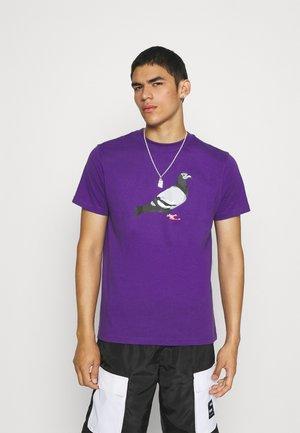 TEE UNISEX - Triko spotiskem - purple