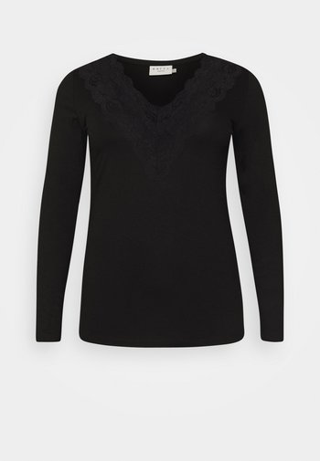 LIMA - Long sleeved top - black deep