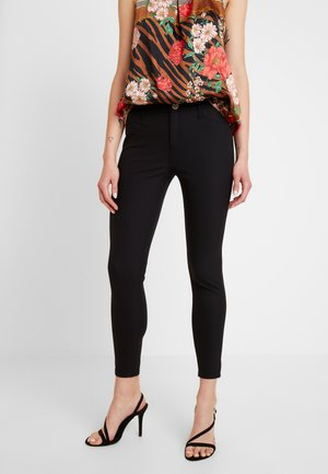 MOLLY - Trousers - black