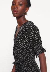 Gap Tall - TIE WAIST - Sukienka letnia - black - 4