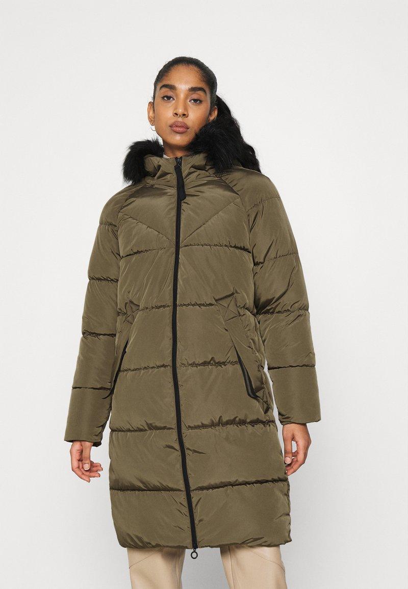 ONLY - ONLMONICA LONG PUFFER COAT  - Winter coat - beech