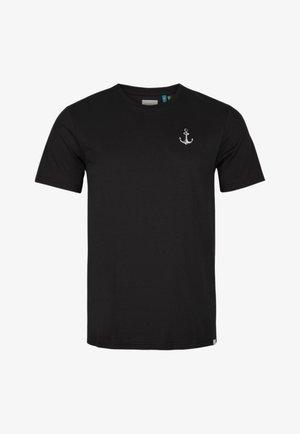 Basic T-shirt - black out