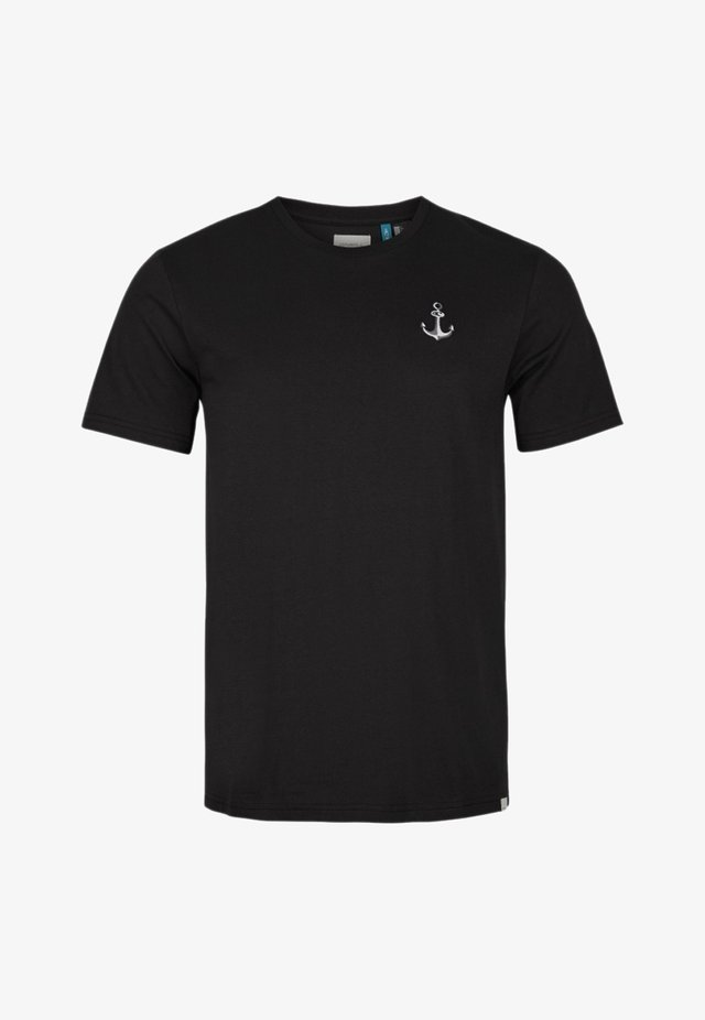 T-shirt basic - black out