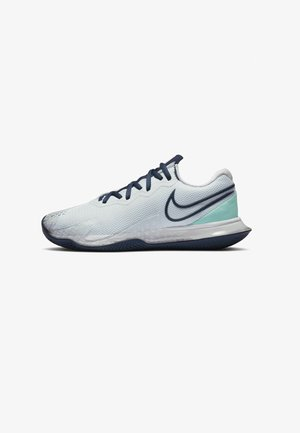 COURT AIR ZOOM VAPOR CAGE 4 CLAY - Clay court tennis shoes - football grey/tropical twist/white/midnight navy