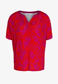 Oui - T-shirt imprimé - red stone - 4