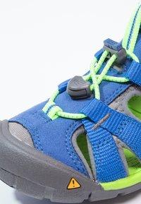 Keen - SEACAMP II CNX - Walking sandals - true blue/jasmine green - 5