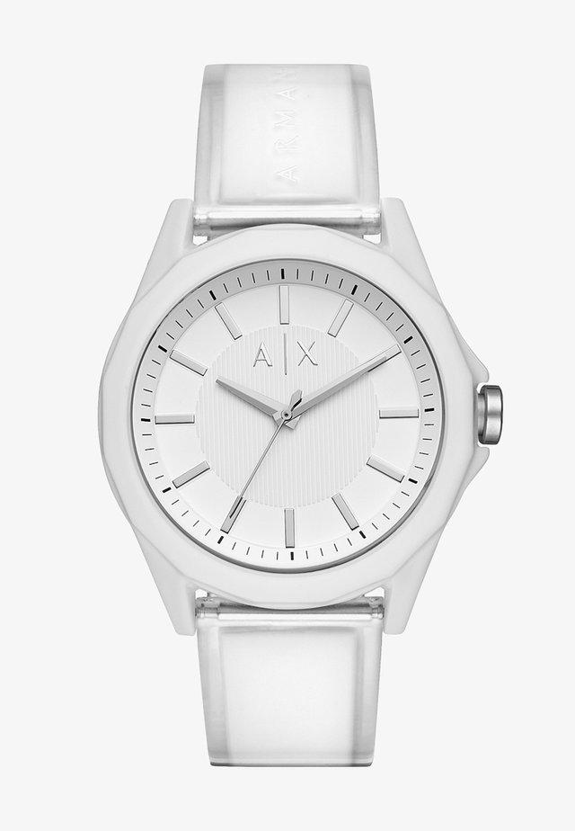 Horloge - klar/weiss