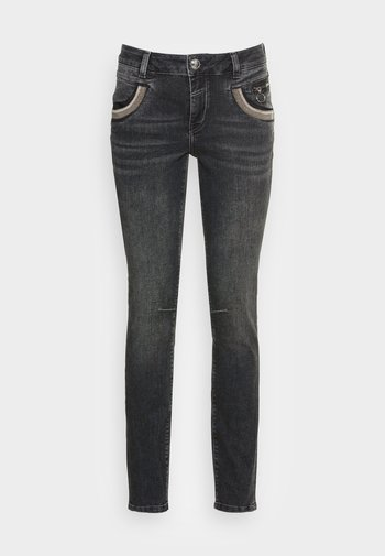 SHADE WASHED - Slim fit jeans - grey