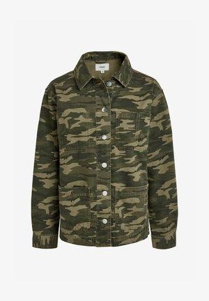 Denim jacket - multi-coloured