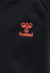 Hummel - Hoodie - black/fiesta - 3