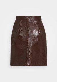 Han Kjøbenhavn - SKIRT - A-line skirt - brown - 1