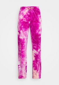 Juicy Couture - TINA TRACK PANTS - Tracksuit bottoms - rosebud/almond blossom - 4