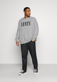 Levi's® Plus - BIG CREW SEASONAL - Sweatshirt - midtone heather grey - 1