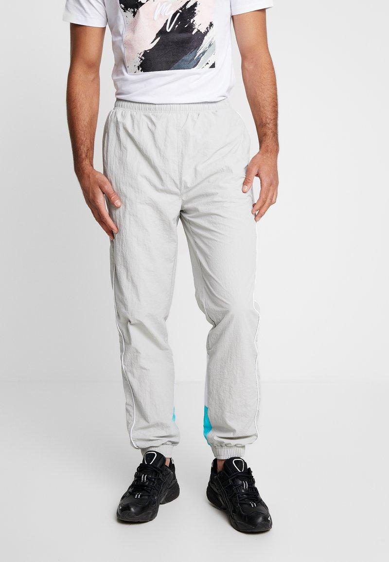 Fila - TALMON PANT - Træningsbukser -  harbor mist/blue curacao/bright white
