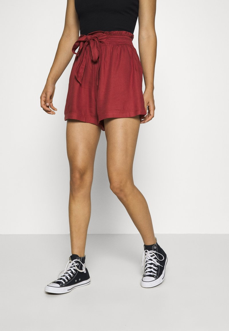 Hollister Co. - Shorts - red