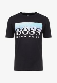 BOSS - TREK  - Print T-shirt - black - 5