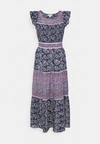 Marks & Spencer London - MIX PRINT MIDAXI - Sukienka letnia - dark blue - 0