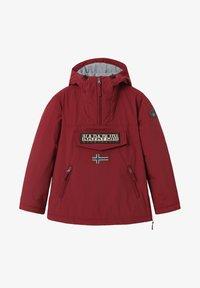 Napapijri - RAINFOREST POCKET - Light jacket - vint amaranth - 1