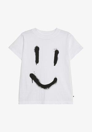 REEVE - T-shirt imprimé - white
