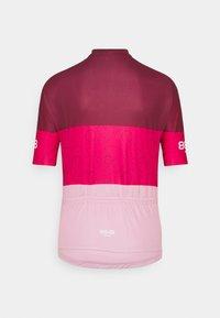 8848 Altitude - EVY BIKE  - Print T-shirt - burgundy - 1
