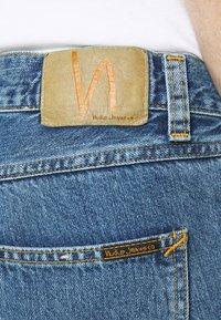 Nudie Jeans - GRITTY JACKSON - Straight leg -farkut - friendly blue - 5