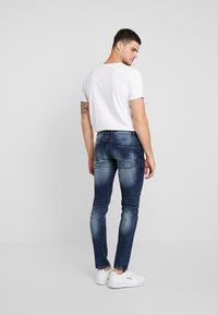 Redefined Rebel - STOCKHOLM TERRY - Slim fit jeans - dark sea - 2
