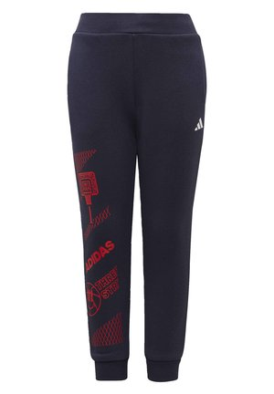 FLEECE JOGGERS - Pantalones deportivos - blue