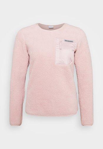 WEST BEND™ CREW - Felpa in pile - mineral pink