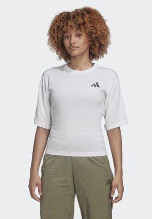 TIGER GRAPHIC T-SHIRT - Print T-shirt - white