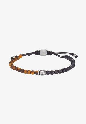 VINTAGE CASUAL - Bracelet - braun/schwarz