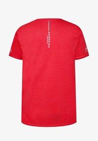 BadRhino - Print T-shirt - red - 1