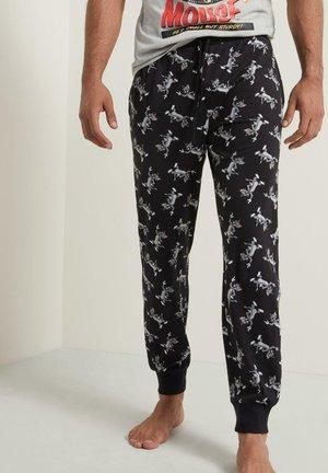 TOM - Pyjama bottoms - nero st.tom allover