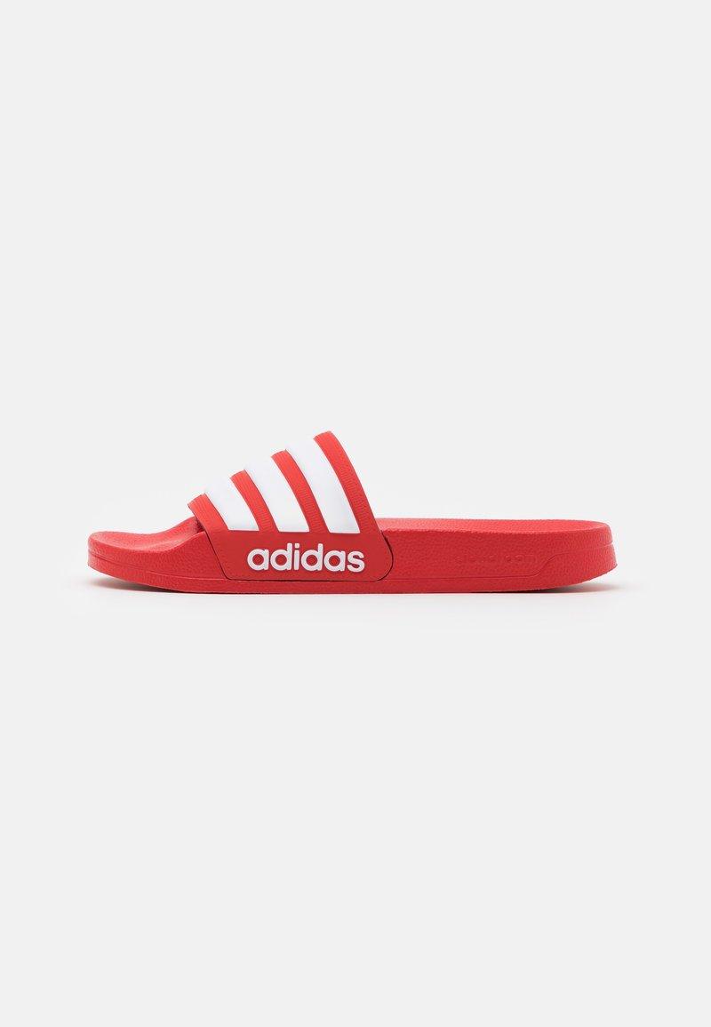 adidas Performance - ADILETTE UNISEX - Pool slides - scarlet/footwear white