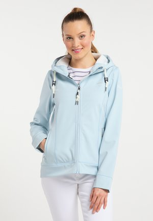 Waterproof jacket - light blue