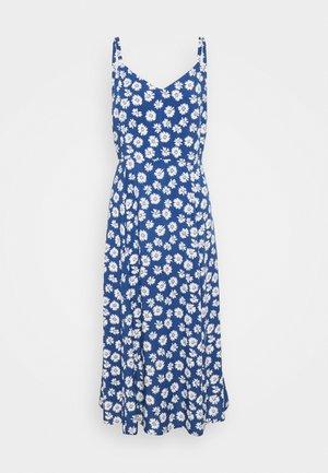 V CAMI MIDI  - Korte jurk - daisy blue