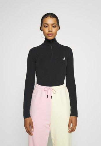 ARIZONA BODY SUIT - Long sleeved top - black