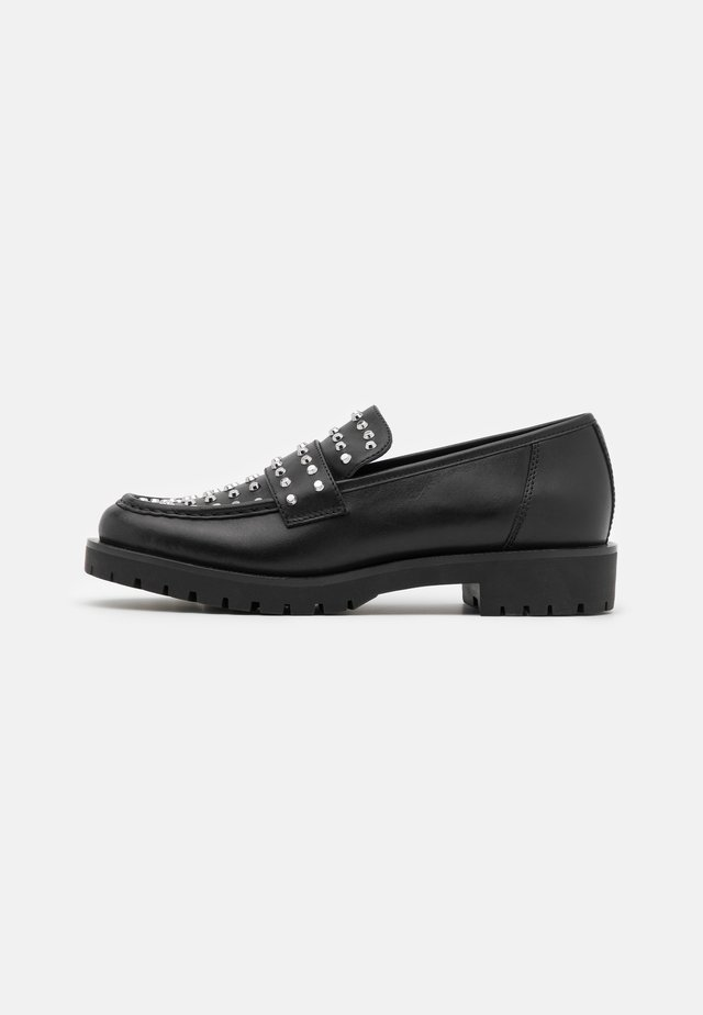HOLLAND LOAFER - Półbuty wsuwane - black