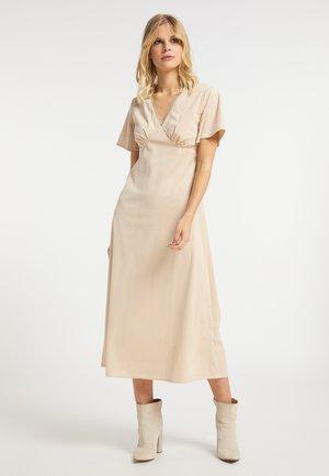 Korte jurk - hellcamel