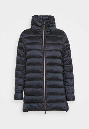 IRISY - Kabát zprachového peří - black