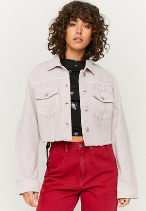 Denim jacket - purple