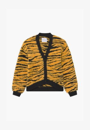 URBAN ANIMAL FLUFFY - Cardigan - yellow