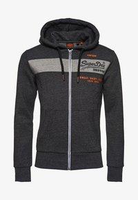 Superdry - Zip-up sweatshirt - dark grey - 5
