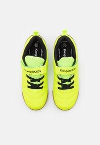 KangaROOS - SPEED COMB - Trainers - neon yellow/jet black - 3