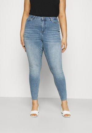VMLORA - Skinny džíny - light blue denim
