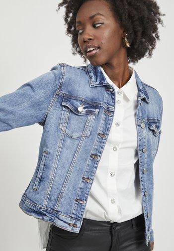 VISHOW - Denim jacket - medium blue denim