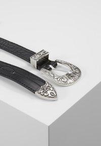 Pieces - PCLAUREN WAIST BELT - Tailleriem - black/silver-coloured - 3